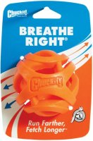 CHUCKIT! BREATHE RIGHT FETCH BALL LARGE 1-PACK