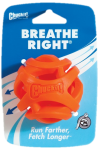 CHUCKIT! BREATHE RIGHT FETCH BALL MEDIUM 1-PACK