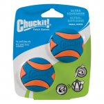 CHUCKIT! ULTRA SQUEAKER BALL SMALL 2-PACK