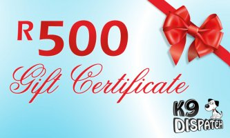 R500 Gift Certificate