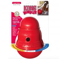 KONG Red Wobbler Treat Toy, Large