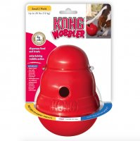 KONG Red Wobbler Treat Toy, Small